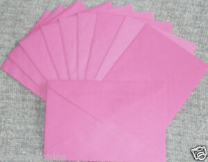 10-Greeting-Birthday-Holiday-Shower-Wedding-Party-BLANK-ENVELOPES-for-Cards-NEW