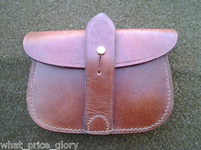 Leather Ammo Pouch for British Sam Browne Belt