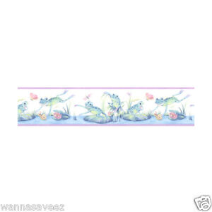 frog pond butterfly dragonfly kids girl 39 s bath room pastel