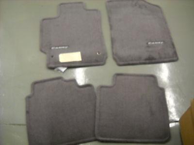 2007 -  2011 Toyota Camry Carpet Floor Mats, OEM,  Gray,   PT206-32100-12