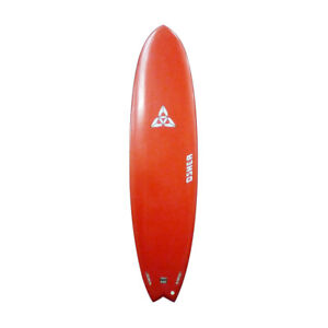 O'SHEA 2011 6'10 EPX2 Hybrid Swallow Tail Surfboard