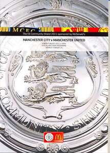 * MAN CITY V MAN UTD 2011 COMMUNITY SHIELD PROGRAMME *