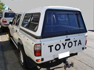 NEW-DUAL-CAB-TEXTURED-UTE-CANOPY-FOR-HILUX-05-MADE-TO-ORDER