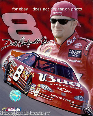 Dale Earnhardt Jr Budweiser Beer Nascar 8 X 10 Photo