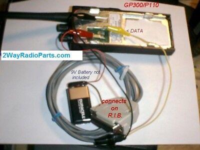 Motorola Programming Cable Gp300 Gp350 P110 P1225 Sp50