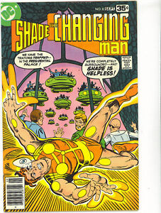 SHADE THE CHANGING MAN 8 1978 Ditko FINAL ISSUE SCARCE