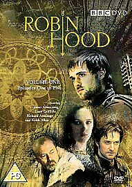 ROBIN-HOOD-VOLUME-1-SERIES-1-BBC-2-DISC-DVD-as-NEW