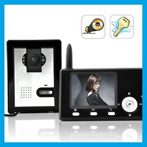 Wifi door entry camera