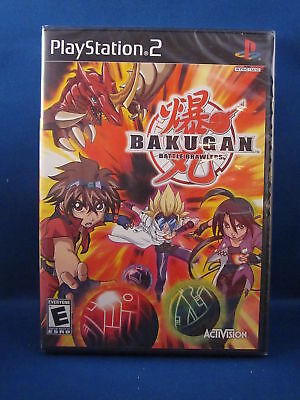 Playstation 2 Bakugan Battle Brawlers Video Game