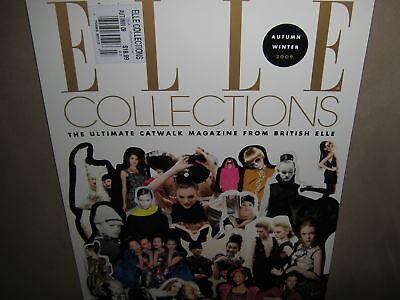 NEW! ELLE COLLECTIONS UK Autumn/Winter 2009 Catwalk Fashion Beauty Trends CPics