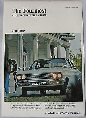1966 Vauxhall Viscount Original advert