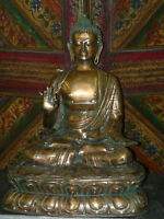 Buddha Brass Sculptures