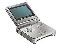 Nintendo Game Boy Advance SP Platinum Ha...