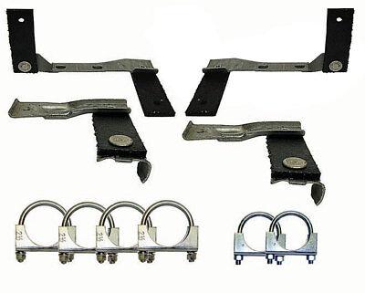 Chevelle El Camino 68-72 Exhaust Hanger Clamp Kit BB **In Stock!**