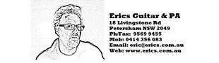 Erics Guitar and PA E Store