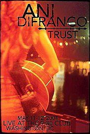 Trust [DVD] [2002] Ani DiFranco - 1st Class FREEPOST