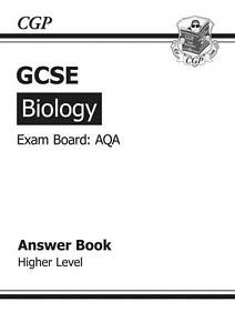 GCSE Biology AQA Answers for Workbook by CGP Books