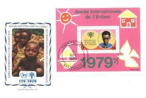 Congo 1979 Mi FDC BL 21 Year of Child Kindes - <span itemprop=availableAtOrFrom>Dabrowa Bialostocka, Polska</span> - Congo 1979 Mi FDC BL 21 Year of Child Kindes - Dabrowa Bialostocka, Polska