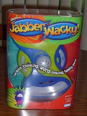 Milton Bradley Electronic Jabber Wacky Game – Brand