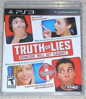 Playstation 3 - Truth Or Lies (new)