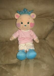18-Playskool-1988-Bear-Friends-Plush-Doll-w-Outfit