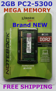 New-KINGSTON-2GB-PC2-5300-667MHz-LAPTOP-Memory-Ram-HUGE