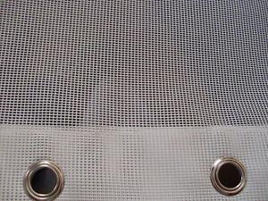 Tessuto microforato per esterni