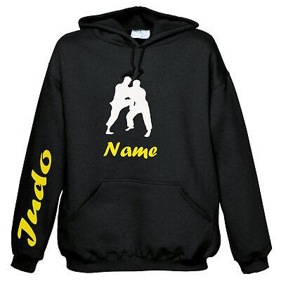 Judo - Sweatshirt mit Ihren Namen COOL