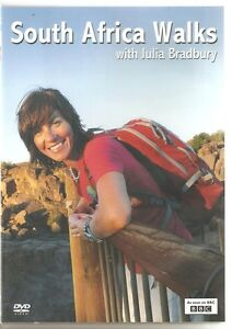 SOUTH AFRICA WALKS WITH JULIA BRADBURY DVD