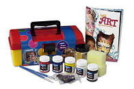 Derivan Face & Body Paints Tool Box Kit