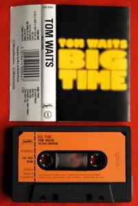 TOM-WAITS-BIG-TIME-1988-UNIQUE-EXYU-CASSETTE-TAPE