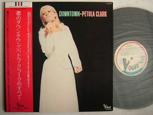 PETULA CLARK JAPAN OBI DOWNTOWN