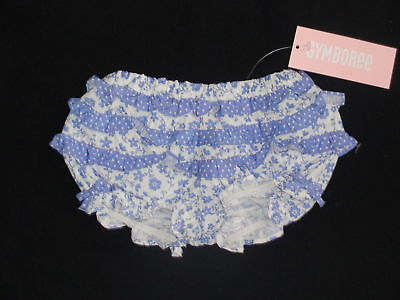Gymboree Porcelain Doll Blue Floral Bloomers 12-18