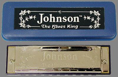 Johnson Blues King Harmonica Key of C