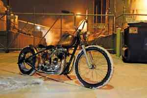 triumph bolt on hardtail frame unit 650 bobber chopper