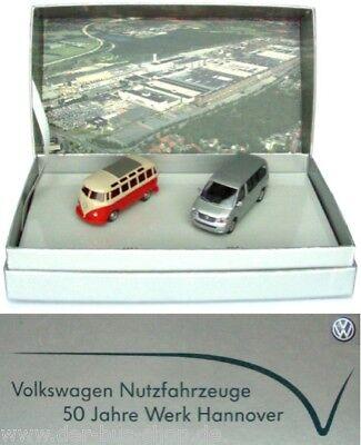 VW Bus T1 T5 - Wiking Set 1:87 - 50 Jahre - limitierte Sonderedition - NEU & OVP online kaufen