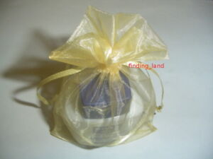 Luxury Organza Wedding Favor Gift Bags Jewellery Pouch
