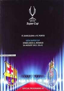 SUPER-CUP-2011-BARCELONA-v-FC-PORTO-PROGRAMME