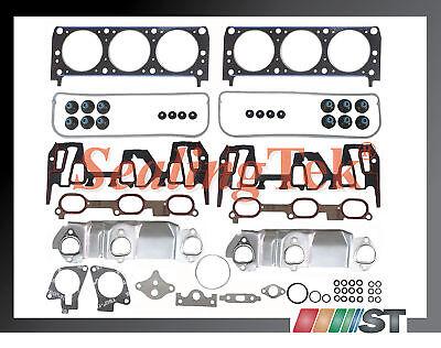 99-03 Gm 3100 3.1 189 V6 Vin J Cylinder Head Gasket Set Kit Auto Engine Parts