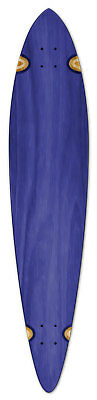 "NEW Blue Longboard Pintail Skateboard Deck 40"" X 9.75"""