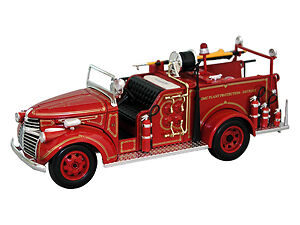 *NEW* 1941 GMC Fire Truck Fire Engine 1:50 Scale - DieCast Vehicle Car Model