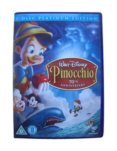 Pinocchio DVD 2009 2Disc Set WALT DISNEY NEW AND SEALED REGION 2 - london, London, United Kingdom - Returns accepted Most purchases from business sellers are protected by the Consumer Contract Regulations 2013 which give you the right to cancel the purchase within 14 days after the day you receive the item. Find out more - london, London, United Kingdom