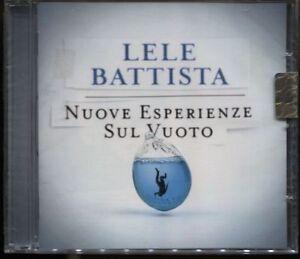CD-LELE-BATTISTA-NUOVE-ESPERIENZE-SUL-VUOTO-2010-SEALED