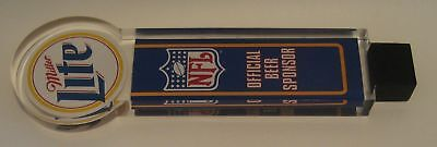 NFL Miller Lite OFFICIAL BEER SPONSOR tap handle