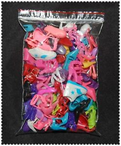 NEW-40-Pairs-Different-BARBIE-DOLL-Shoes