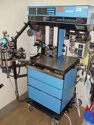 Narkomed Dragger 2b Anesthesia Machine