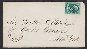 US-Sc-158-on-c-1875-Readville-Station-MA-DPO-Cover
