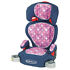 Car Seat: Graco Turbo 8496SAM Samantha Booster Car Seat Type: Booster, Forward Facing, With Vehicle Seat B...