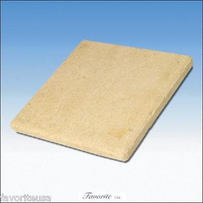 Ceramic Soldering Block 6x 6x 1/2 With 4 Rubber Feet