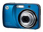 HP CW450t 12.2 MP Digital Camera - Ocean blue